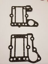 Exhaust & jacket gasket for Yamaha 4hp 2 stroke outboard 6e0-41114-01 6e0-4112-0