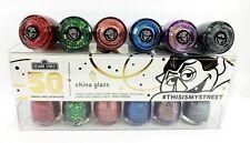 China Glaze NL MINI SESAME STREET 50th Anniv #THISISMYSTREET - 6 Colors x 1/8oz