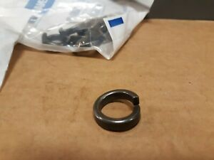 """1//4/""""ID x 1/""""OD x .048/""""Thick Silver Plated Flat Washer Fastenal Lot of 200"""