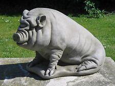 Pot Bellied Pig Garden Statue