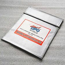 Lipo World 23 x 18 Akku Lade Tasche Charge Safety Bag feuerfest laden lagern