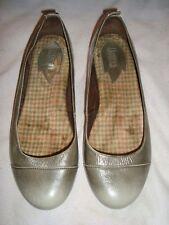 BORN  UK 5.5  EU 38.5  GREY Leather Shoes RRP £ 80.00