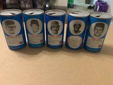 RC Cola 1977 1979 Baseball Cans Lot Of 5 Garvey Hunter Lynn Blue Fingers