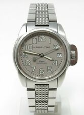 Orologio Hamilton Khaki automatic watch ref 6305 clock all stainless steel reloy