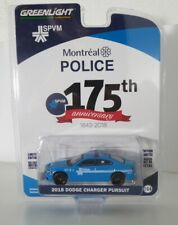 Greenlight 1:64 AC8 - Dodge Charger 2018 Montreal Canada Police Brand new