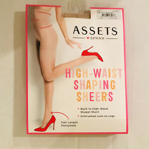 Assets By Spanx  High Waist Shaping Sheers Size 1 Champagne