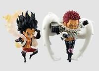 Banpresto jump 50th World Collectible Figure One Piece Luffy Katakuri set JAPAN