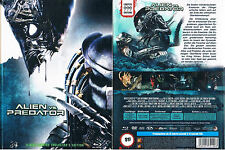 ALIEN VS. PREDATOR --- Mediabook --- Blu-ray + DVD --- Limited 999 Edition ---