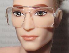GLASSES ~ BARBIE BMR1959 KEN DOLL CLEAR FRAME READING FASHION DIORAMA ACCESSORY