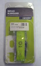 Reflex Blinkband mit Klettverschluss Neongelb,s Joggerband BLINKY (N17;G)37878