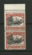 NIUE SG 57a 1932 ONE STAMP 14X13 THE OTHER 13X13 MNH
