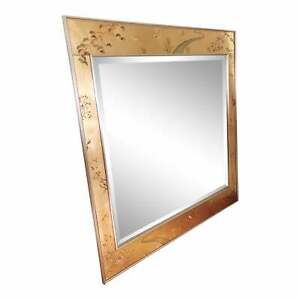 Rare Gold Labarge Chinoiserie Wall Mirror *NO RESERVE*