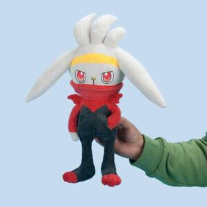 Center Raboot Plush Doll Pocket Monster Stuffed Toys Kid's Gift 30cm