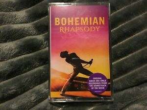 Queen ‎– Bohemian Rhapsody Soundtrack Cassette - New And Sealed