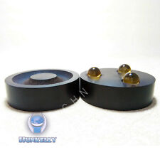 "1 pc Crystal Ball speaker Isolation Foot - 43mm 1.7"" Rosewood Golden"
