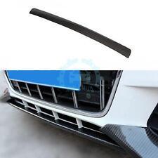 Front Chin Lip Spoiler Carbon Fiber Fit for Audi A4 B8 Non-Sline Bumper