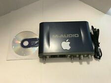 M-Audio Fast Track Pro Digital Recording Interface w/CD USB TESTED No Power Cord