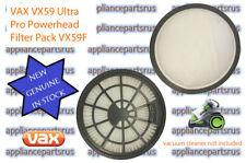 VAX VX59 Ultra Pro Powerhead Filter Pack VX59F - NEW - GENUINE - IN STOCK