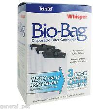 Tetra Whisper Bio-Bag Cartridge Large 3pk Assembled