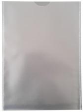 10x A5  Ausweishülle 120my, Dokumentenhülle, Schutzhülle Klarsichthülle genarbt