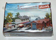 Plastoy Bahnset Steinbach Modellbahn H0 5 Gebäudebausätze OVP eingeschweißt