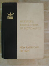 Original Vintage- Webster's  Encyclopedia Of Dictionaries- New American Edition