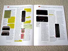 Nakamichi CA-1 / PA-1 amplifier review reprint