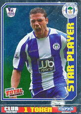 N°462 STAR PLAYER WIGAN ATHLETIC STICKER TOPPS PREMIER LEAGUE 2009
