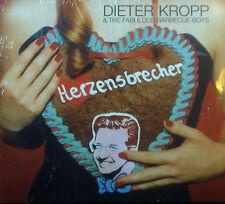 CD DIETER KROPP & THE FABULOUS BARBECUE BOYS - herzensbrecher, neu - ovp