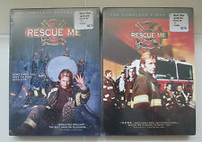 NEW Factory Sealed Rescue Me First Second Season Unrated Dennis Leary DVD set