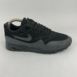 Nike Air Max 1 Ultra Moire 704995-003 Black Sneakers Trainers Shoes US8.5 UK6