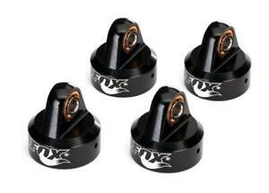 Traxxas UDR Shock Caps Aluminum Black-Anodized Fox Shocks TRA8456