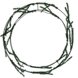 "Green Pine Work Wreath 13"" X 16"""