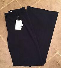 NWT CAbi Navy Blue Wide Leg Trouser Dress Pants Sz 8 Style 600