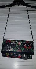 STEVE MADDEN METAL CHAIN CROSS BODY FLORAL INDIE URBAN HIPSTER NEW WITH TAGS