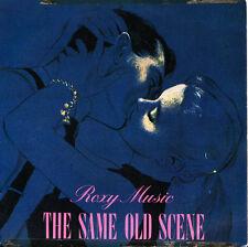 ROXY MUSIC-THE SAME OLD SCENE + MY ONLY SINGLE VINILO 1980 SPAIN