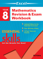 Excel Essential Skills - Mathematics Revision and Exam Workbook Year 8