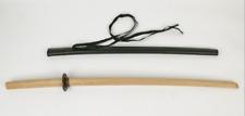 Master Quality Bokken with Saya Tsuba Sageo Pack Iaido Aikido Kendo Daito