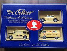 Modellautos Werbepackung von Dr. Oetker