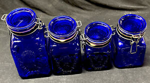 SET OF 4~GRANNY'S PRODUCTS INC~PEACE PLENTY~MADE IN ITALY~1968 CENTERVILLE USA