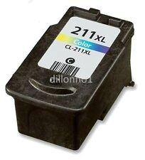CL-211XL Color Ink Cartridge for Canon PIXMA MP280 MP480 MP490 MP495 MP499 MX320