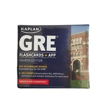 Kaplan Test Prep: GRE® Vocabulary by Kaplan 2014, Cards,Flash Cards, Revised