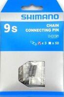 Shimano CN7700 3 x Kettennietstifte 9 Fach HG  Fahrrad Kette OVP Neu