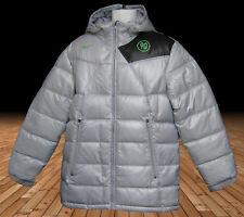 New NIKE Mens Total 90 T90 Bench Coat  Puffa Jacket Silver Grey M
