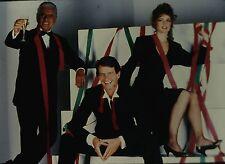 """PAMELA SUE MARTIN & JOHN FORSYTHE in """"Dynasty"""" - Orig. 35mm COLOR Slide"""