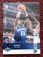 MICHAEL JORDAN 2002-03 Upper Deck UD SuperStars #247 Wizards 🏀