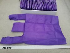 2 x Brand New Purple Fold-able Pocket Reusable Shopping Tote Bags