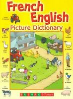 French English Picture Dictionary, Goldstein, E. Bruce, Like New, Hardcover