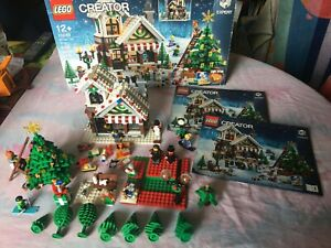 LEGO creator expert - 10249 - Le magasin de jouets d'hiver + boite +instructions
