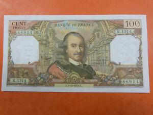 BILLET DE 100 FRANCS  CORNEILLE DU 5-10-1978 SPL